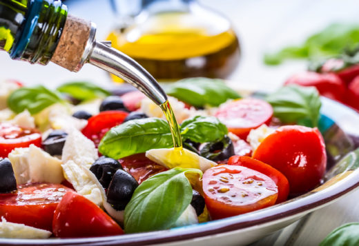 Healthy Beach Snacks - Mediterranean Caprese Tortellini Salad