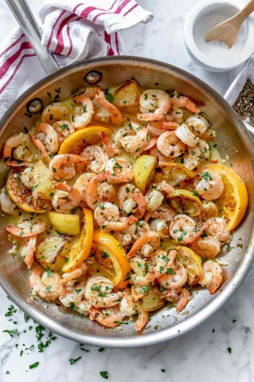 Pan Seared Citrus Shrimp by Foodie Crush
