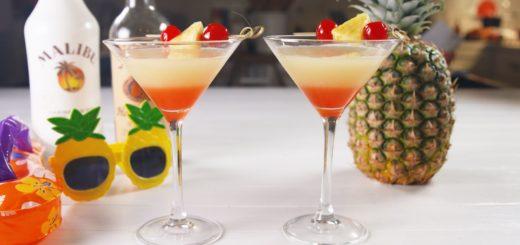 Bikini Martini, Rum Drink Recipes